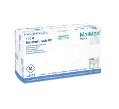 MaiMed-soft Latex Handschuhe puderfrei