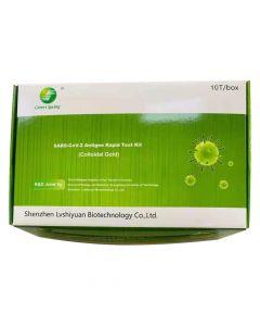 Green Spring SARS-CoV-2-Antigen- Schnelltest-Set (kolloidales Gold)